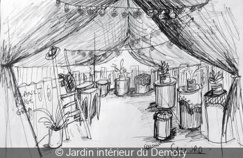 Jardin intérieur du Demory