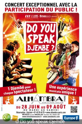 Do you speak Djembé