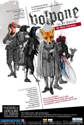 Volpone ou le renard au Jardin Shakespeare