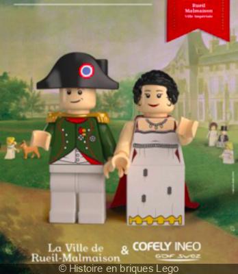 Histoire en briques Lego