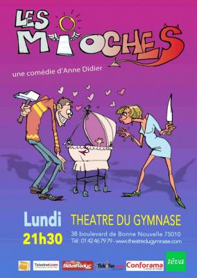 Les Mioches au théâtre du Petit Gymnase