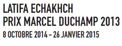 Latifa Echakhch au Centre Pompidou