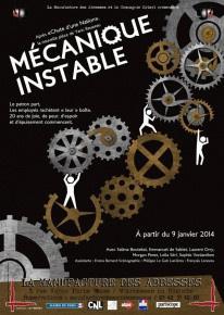 Mécanique instable à la Manufacture des Abbesses : notre critique