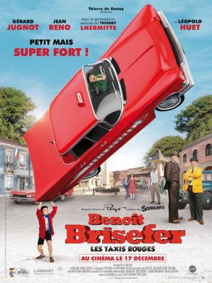 Benoît Brisefer : les Taxis rouges, le jeu concours !