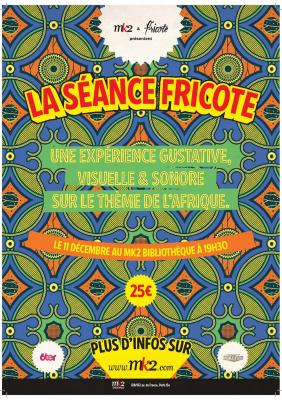Séance Fricote x MK2 : un film, des petits plats, du son et des surprises !