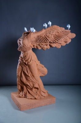L'émotion de l'instant, expo du sculpteur Yiming Min à l'espace Pierre Cardin