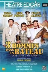 Trois hommes dans un bateau au Théâtre Edgar : notre critique