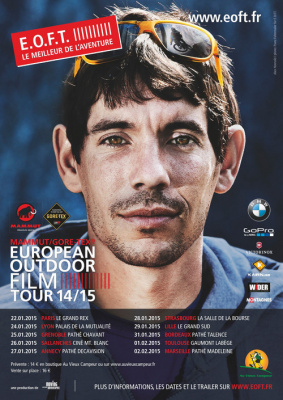 E.O.F.T., le festival européen du film d'outdoor et d'aventures au Grand Rex
