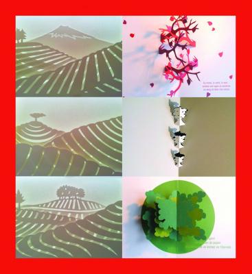 Paysages et saisons en mouvement, une expo de papier au salon de thé George Cannon