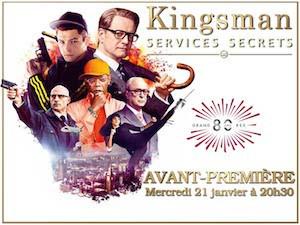 Kinsgman : Services Secrets en avant-première au Grand Rex
