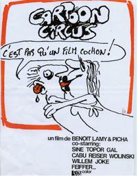 Projection de Cartoon Circus en hommage à Charlie Hebdo