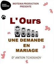 L'ours et Une demande en mariage au Théo Théâtre : notre critique