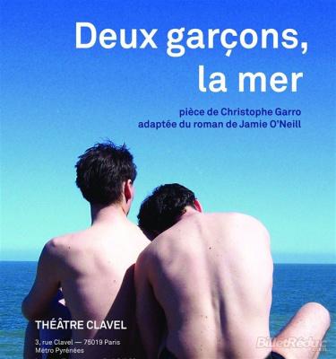 Deux garçons, la mer au théâtre Clavel : notre critique