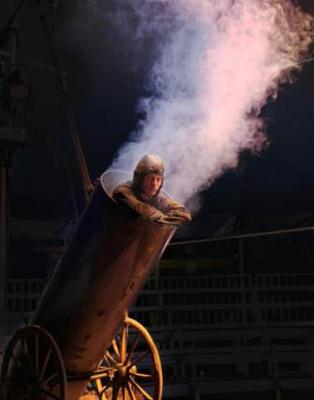 David Dimitri dans L'Homme-Cirque au 104