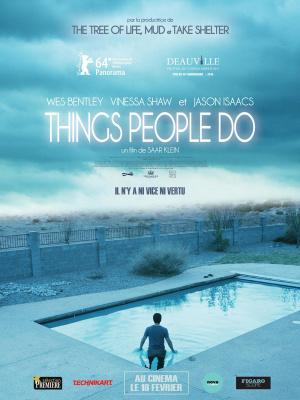 Things people do : critique et bande-annonce