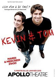 Kevin et Tom à l'Apollo Théâtre : notre critique