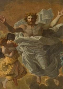 Poussin et Dieu au Louvre