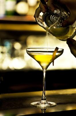Les cocktails du bar du Belmont : la sensualité à l'état liquide