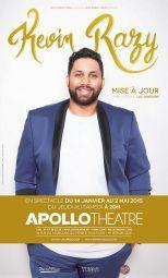 Kevin Razy à l'Apollo Théâtre : notre critique