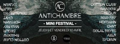Antichambre fait son mini-festival