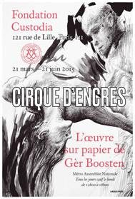 Cirque d'encres : dessins de Gèr Boosten exposés à la Fondation Custodia