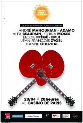André Manoukian réunit des artistes contre le Mélanone