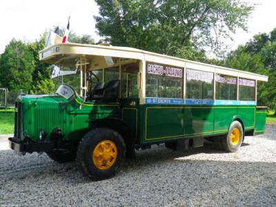 Promenade en autobus parisien des années 30