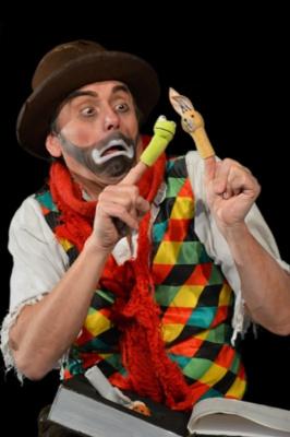 Clown sans cirque fixe au Théâtre Douze