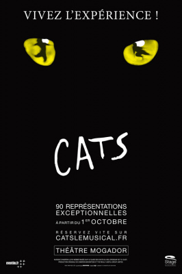Un avant-goût de Cats, la comédie musicale de l'automne !