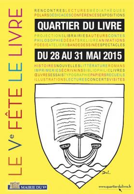Le 5ème arrondissement fête le livre !