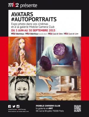 Avatars #Autoportraits, l'exposition dans les cinémas MK2