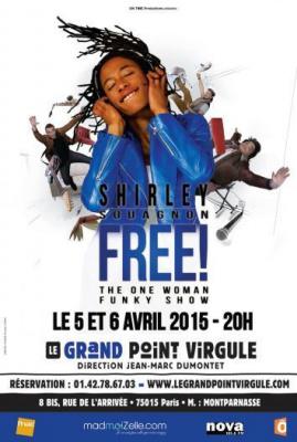 Shirley Souagnon présente Free au Grand Point Virgule