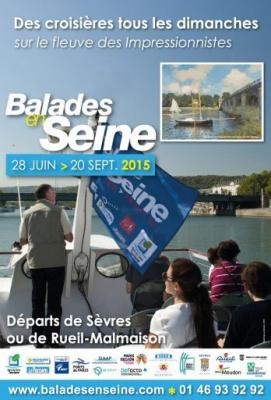 Balades en Seine : des croisières artistiques le long de la Seine