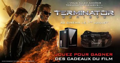 Gagnez des cadeaux Terminator Genisys !