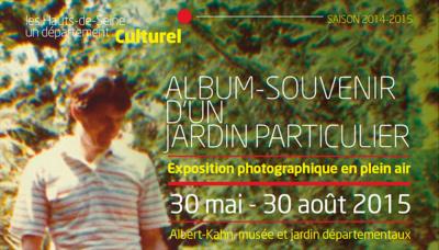 Album souvenir d'un jardin particulier au jardin Albert Kahn