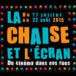 La Chaise et l'Ecran 2015, le cinéma en plein air gratuit du 11e arrondissement