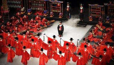 Jongmyo jeryeak au Théâtre National de Chaillot