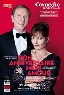 Bon anniversaire mon amour à la Comédie Bastille
