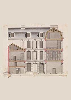Hôtels particuliers à Paris, l'expo du cabinet des dessins des Beaux-Arts