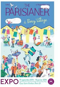 The Parisianer, l'exposition à Bercy Village