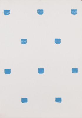Niele Toroni, l'exposition au Musée d'Art Moderne de la Ville de Paris