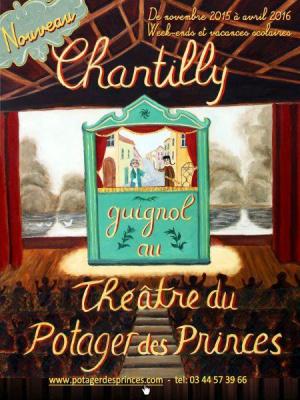 Chantilly : le Potager des Princes accueille le spectacle de Guignol