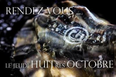 Dégustation d'huîtres Gillardeau au café du Rendez-vous