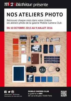 Devenez photographe avec les ateliers photo du MK2 Bibliothèque