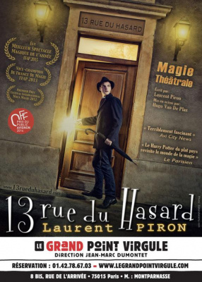 Laurent Piron dans 13 rue du Hasard au Grand Point Virgule