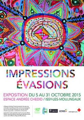 Impressions/Évasions, l'exposition de l'espace Andrée Chedid à Issy
