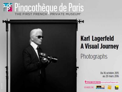 Karl Lagerfeld, a visual journey à la Pinacothèque