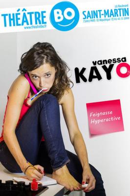 Vanessa Kayo dans Feignasse Hyperactive au théâtre BO Saint Martin : notre critique