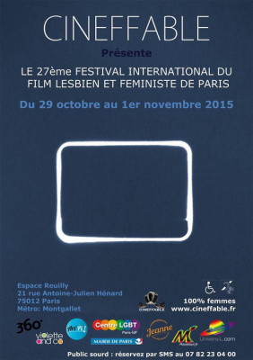 Festival International du film lesbien et féministe de Paris