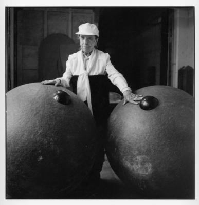 Louise Bourgeois photographiée par Jean-François Jaussaud, l'exposition